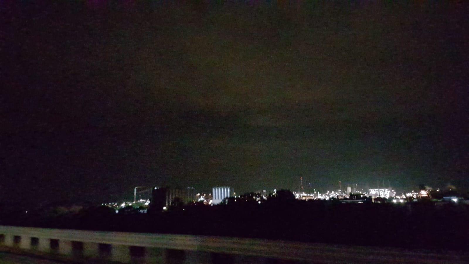 BASF bei Nacht